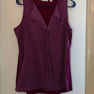 New York & Co Maroon tank top
